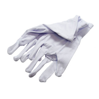 Перчатки т/п жен. р.18 белые