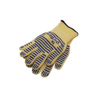 Перчатки термостойкие с частичным покрытитием из силикона