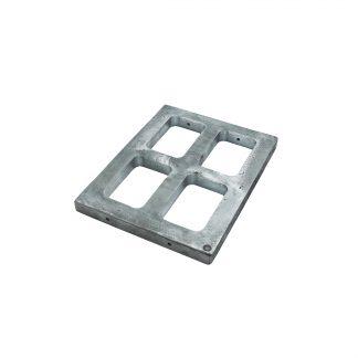 Рамка под резинку алюм. 45х60х25 на 4 резинки