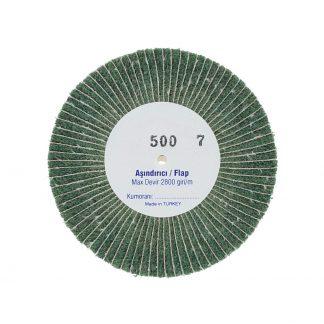 Наборные щетки (грит)  100х7 №500 зеленые
