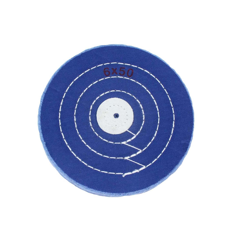 Круг муслиновый синий 152х6х50