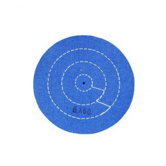 Круг муслиновый 6х60 синий (Турция)