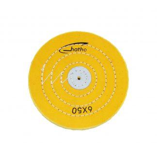 Круг муслиновый 6х50 желтый HATHO (ОПТ)