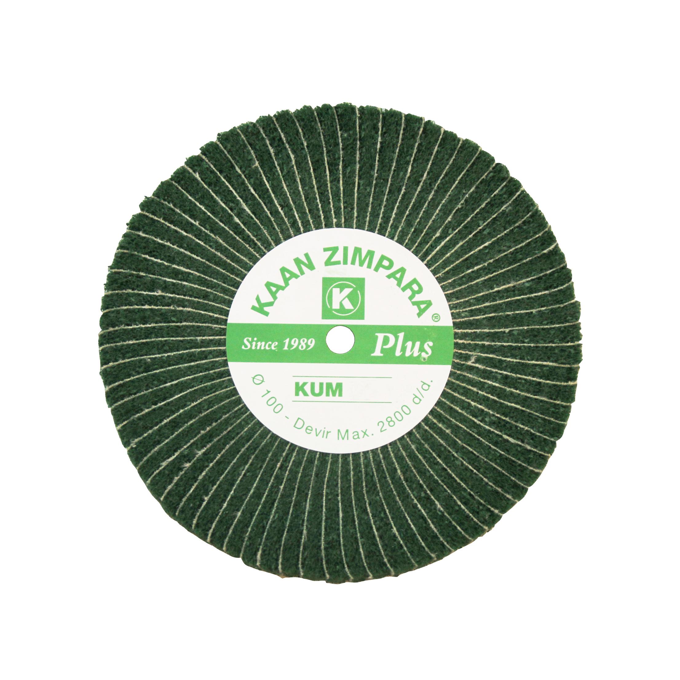 Наборные щетки (грит) 100х30 №500 зеленые (K Z)