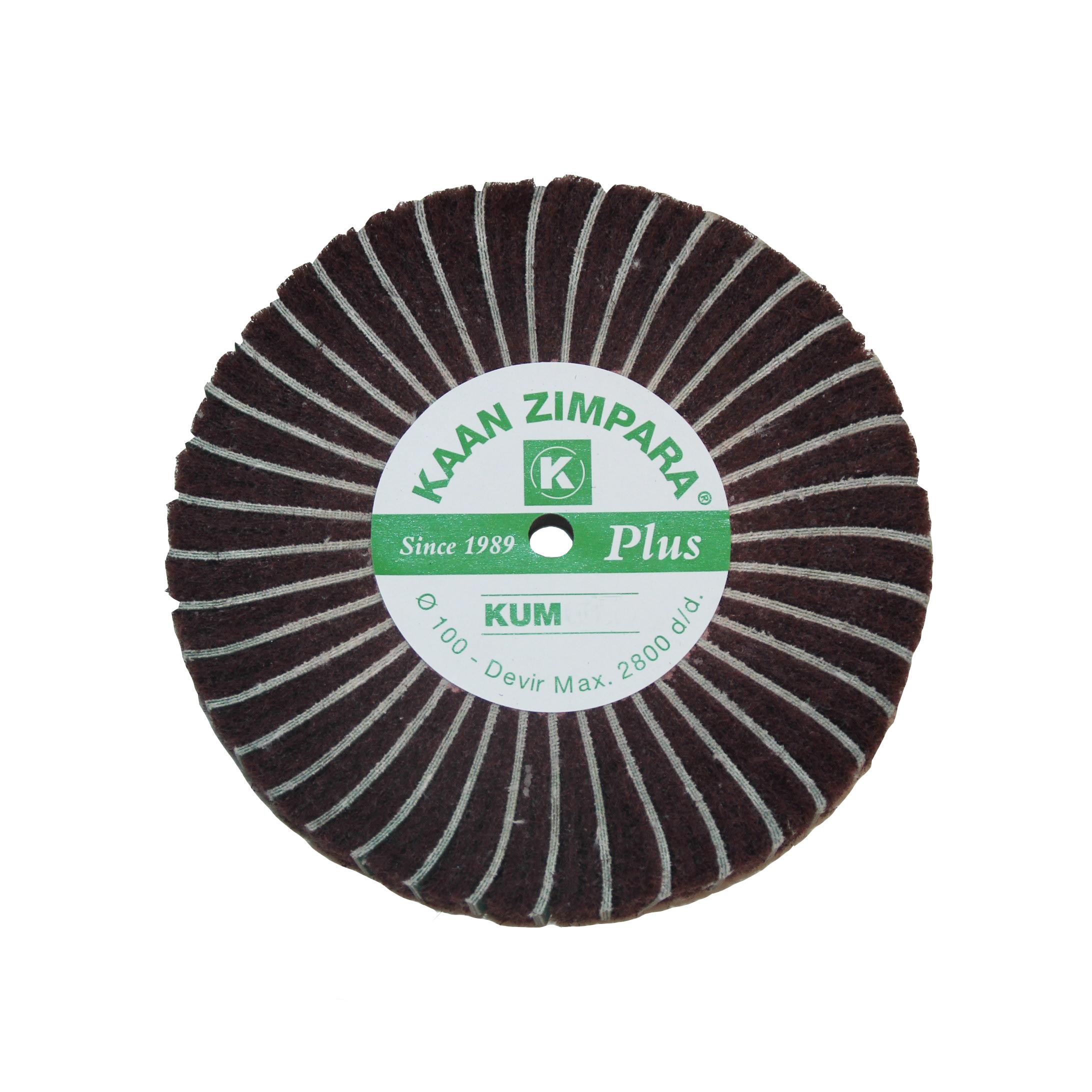Наборные щетки (грит) 100х30 №150 коричневые (K Z)