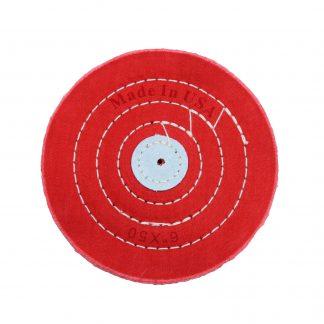 Круг муслиновый красный 152х6х50