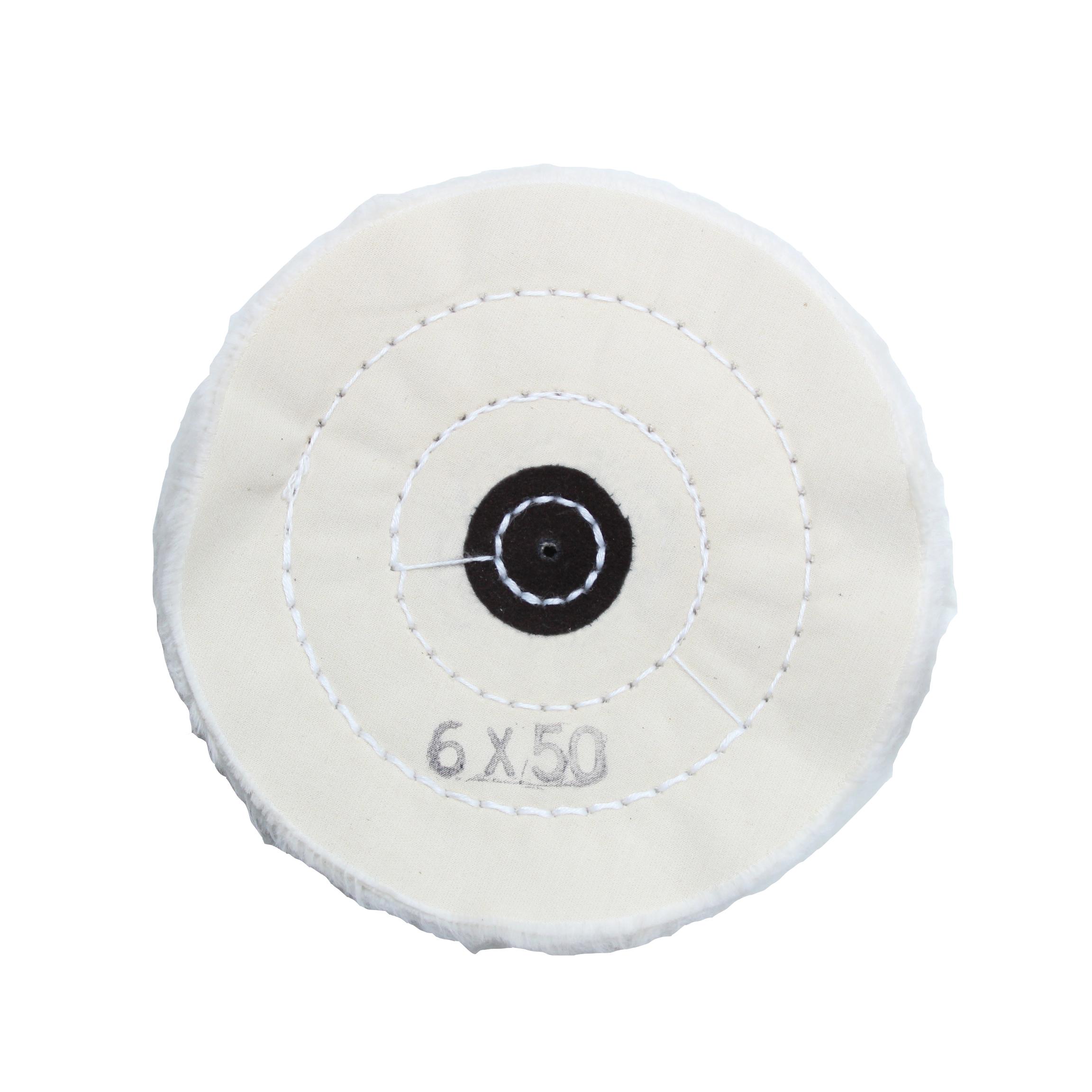 Круг муслиновый белый 6х50 (Турция) DK