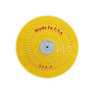 Круг муслиновый желтый 6х50 (Китай)